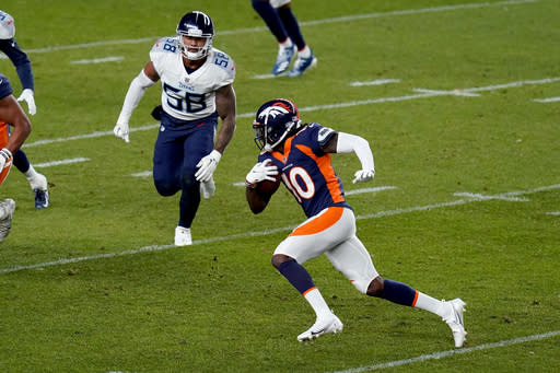 Jeudy's two drops stick out as 1st-round receivers stumble
