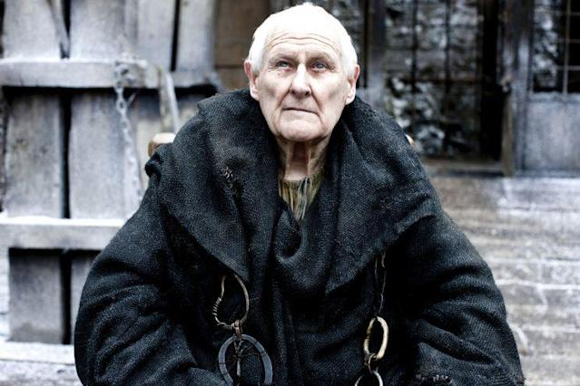 Peter Vaughan as Aemon. (Credit: HBO)