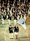 <p>It was a symbolic show of unification when the delegates from North Korea and South Korea walked together under one Korean flag at the opening ceremony in Sydney. </p>