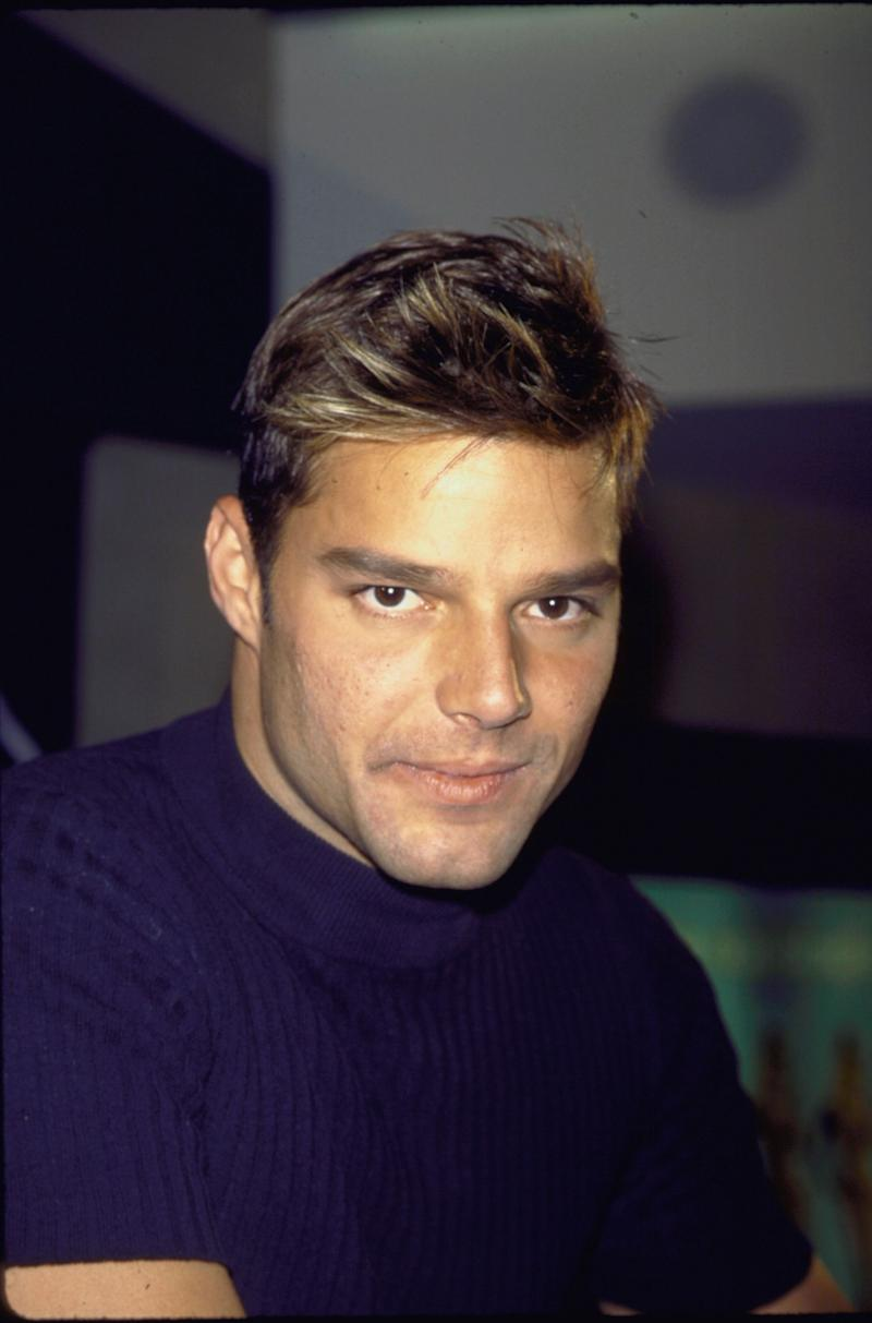 Ricky Martin in March, 1998.