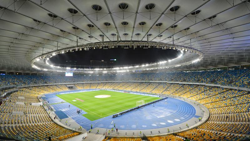 NSC Olimpiyskiy Olympic Stadium Kiev general view 2013