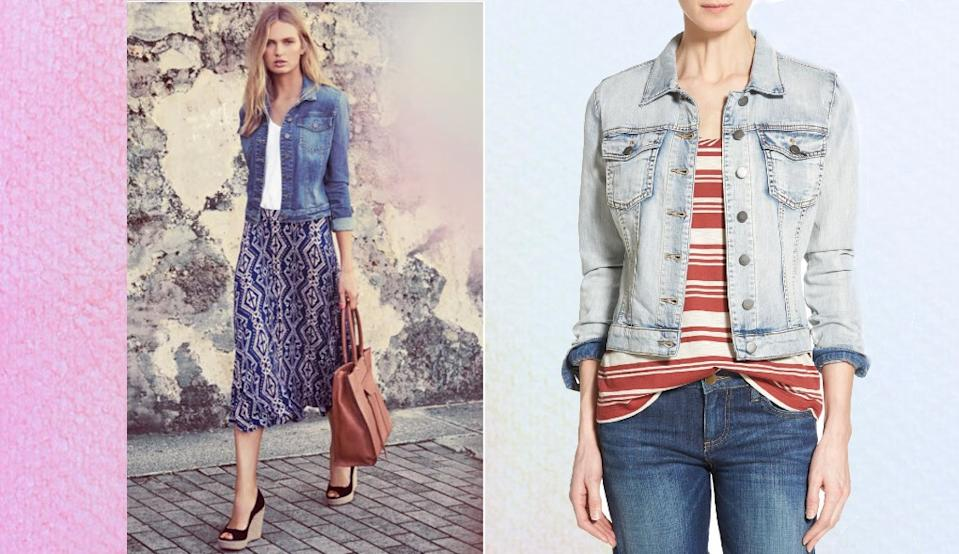 This essential denim jacket is the perfect addition to your closet. (Image via Nordstrom)