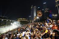 An overview of the crowd. (PHOTO: Singapore GP)