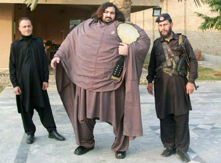 Already a hero in Pakistan he wants to be recognised officially as the world's strongest man (Caters)