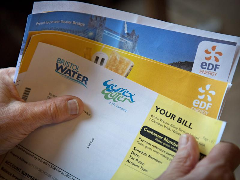 Many utility bills will increase from 1 April: Getty Images