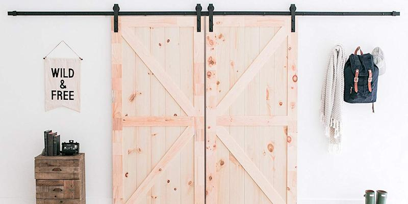 Amazon Is Selling A Diy Sliding Barn Door Kit For Just 60
