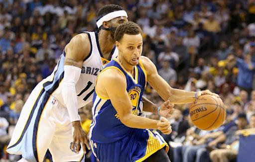 Warriors tie their semifinal at 2-2, rout Grizzlies 101-84