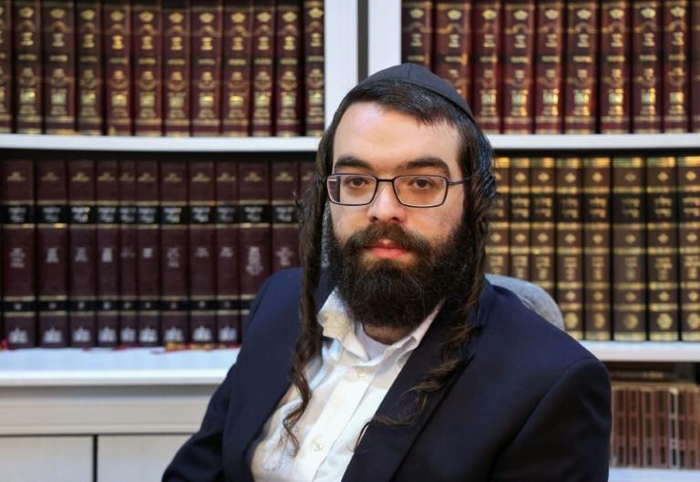 Israeli ultra-Orthodox Jewish voter Yitzhak Richard says he will follow his rabbi's advice when voting