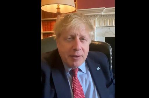 Johnson announced on March 27 that he tested positive for the new coronavirus