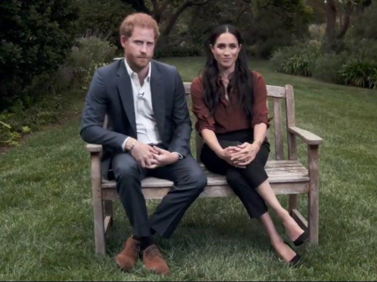 Prince Harry and Meghan Markle face criticism over voting comments (Time )