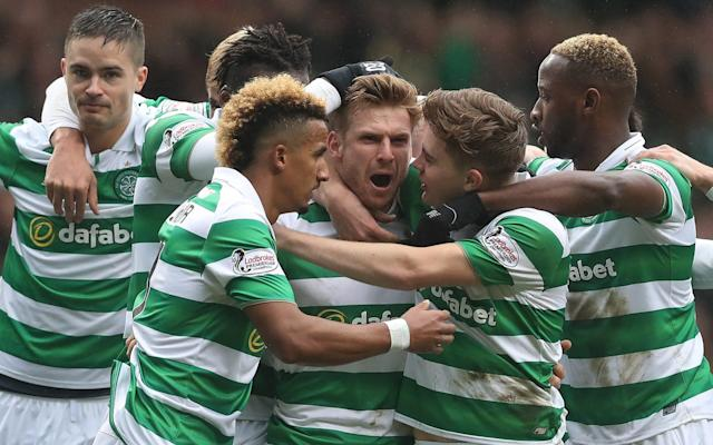 <span>Celtic can win the league this weekend if results go their way</span> <span>Credit: Getty Images </span>