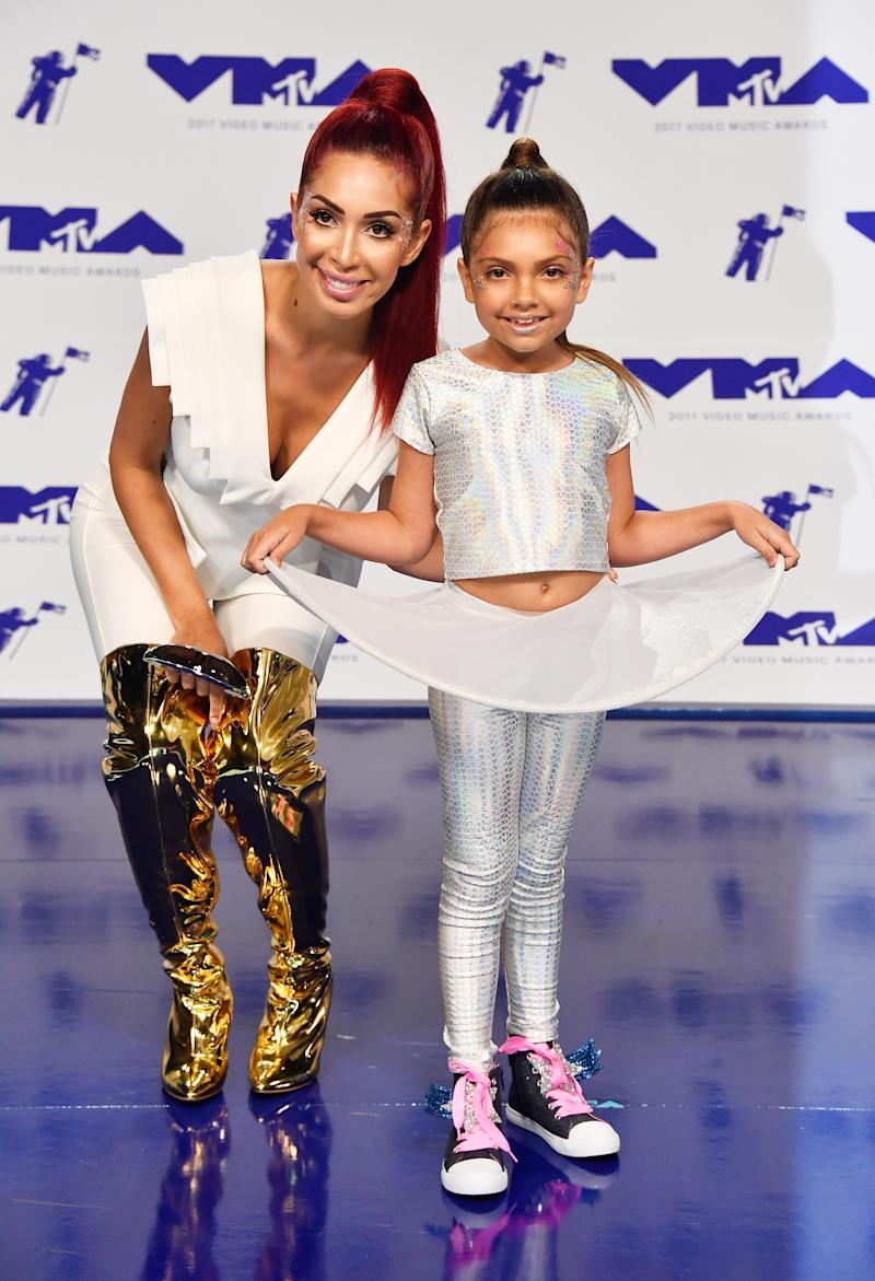 """Abraham rose to fame on the MTV reality shows """"16 and Pregnant"""" and """"Teen Mom."""" (Frazer Harrison via Getty Images)"""