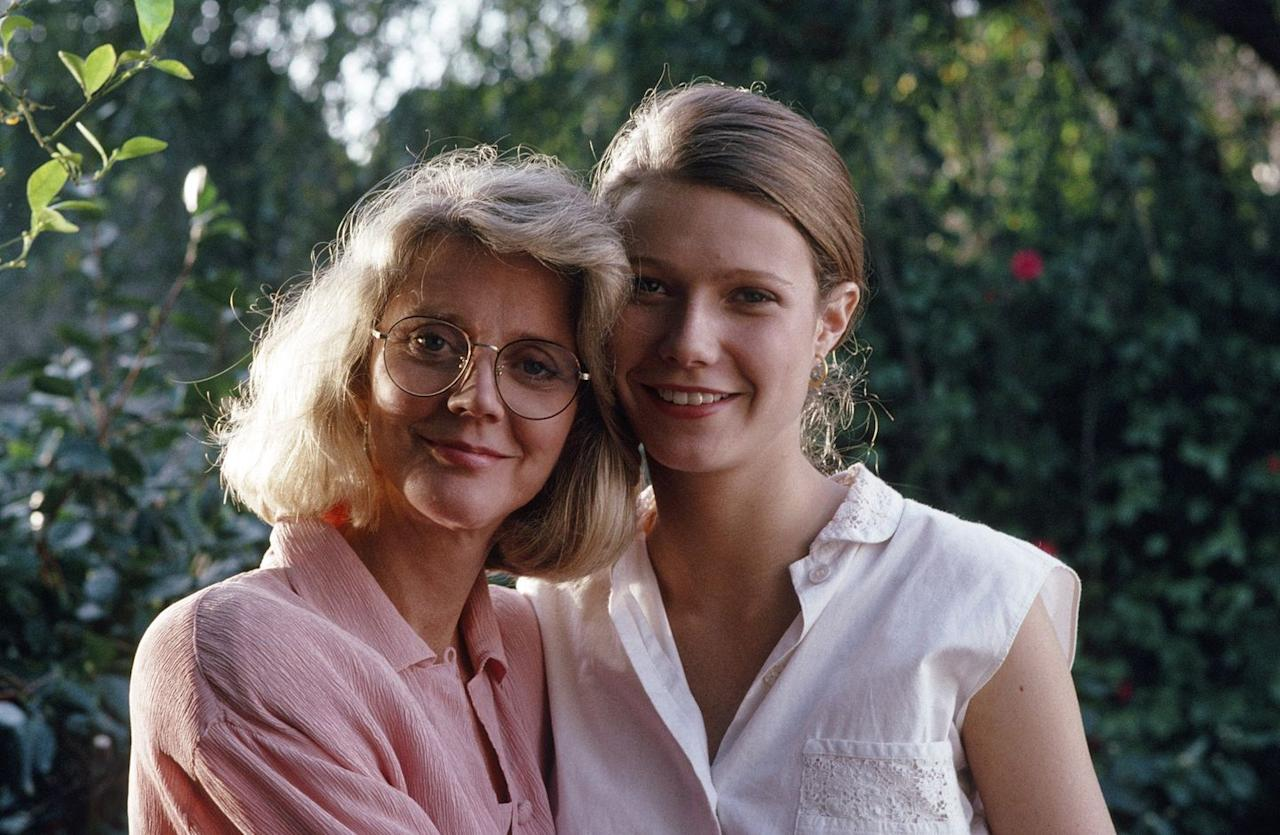 "<p>In one of her very first roles, a 19-year-old Gwyneth Paltrow shared the screen with her mother, Blythe Danner, in the television miniseries <a href=""https://www.imdb.com/title/tt0104031/?ref_=nm_flmg_act_53"" target=""_blank""><em>Cruel Doubt</em></a>.<br></p>"