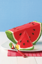 """<p>Store-bought mix, with cans of frosting and a few strategic slices, creates a vanilla cake that morphs into the star summer melon. Have a wedge!</p><p><a href=""""https://www.womansday.com/food-recipes/food-drinks/recipes/a11248/watermelon-cake-recipe-122677/"""" rel=""""nofollow noopener"""" target=""""_blank"""" data-ylk=""""slk:Get the Watermelon Cake recipe."""" class=""""link rapid-noclick-resp""""><strong><em>Get the Watermelon Cake recipe.</em></strong></a></p>"""