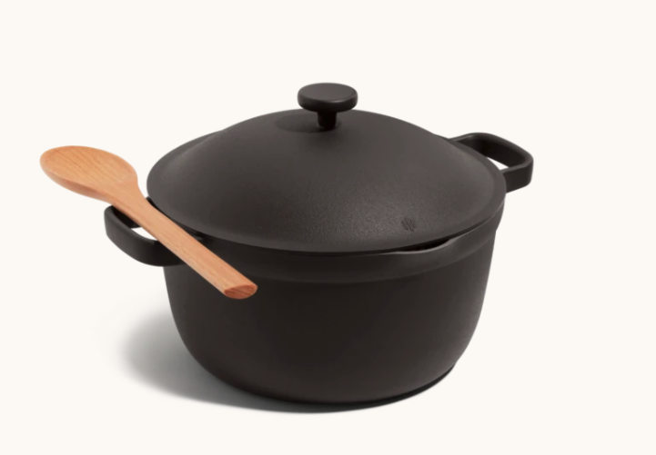 Perfect Pot in Char. Image via Our Place.