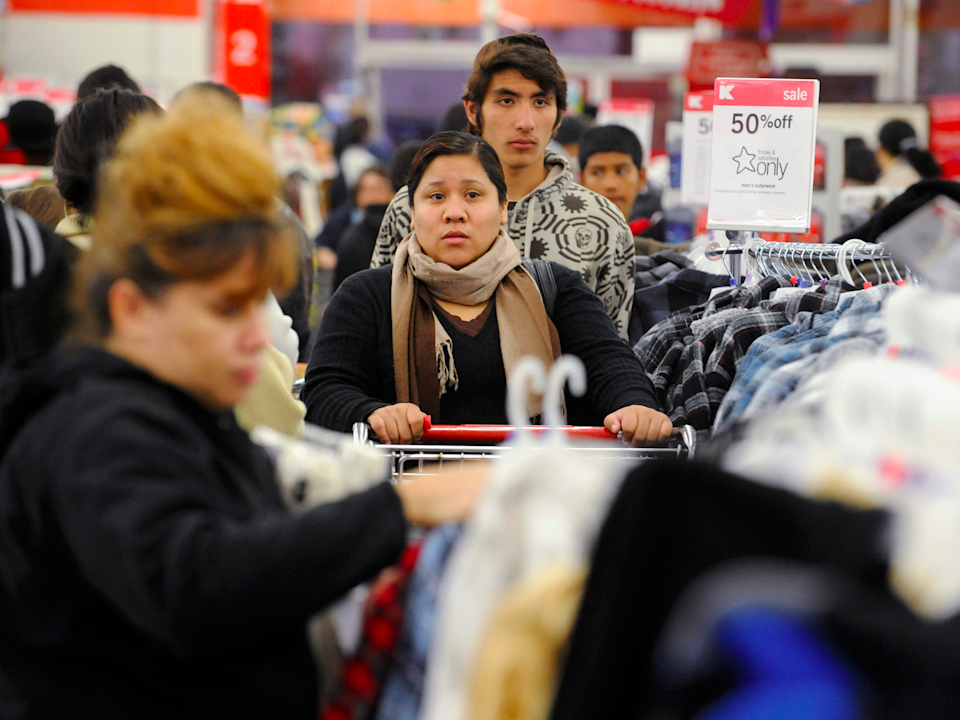 kmart shoppers