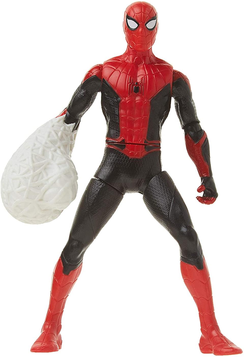 Marvel Spider-Man: Far from Home Web Punch Spider-Man. Image via Amazon.