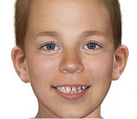 Missing boy Thomas Speath as he may look now. Photo: AAP