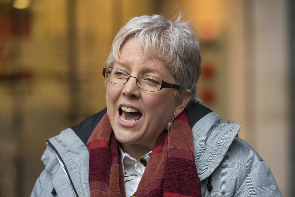<em>Campaign – Carrie Gracie resigned over equal pay (Picture: AP)</em>