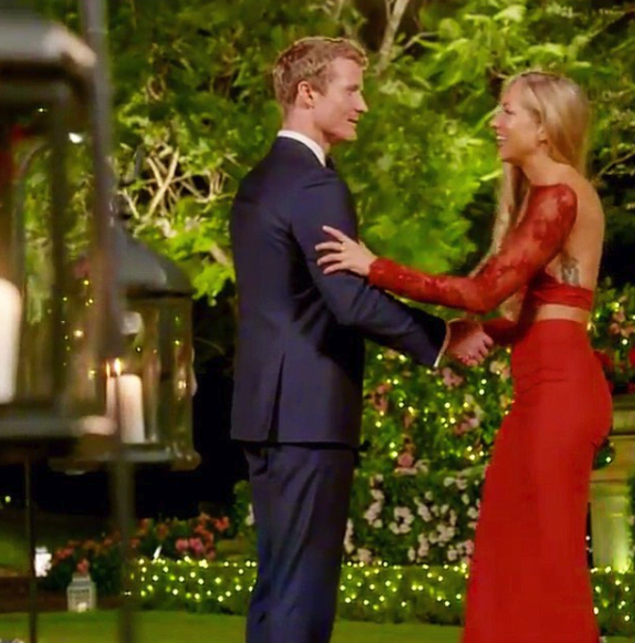 Tiffany appeared in last year's The Bachelor, making a play for Richie Strahan's heart. Photo: Instagram