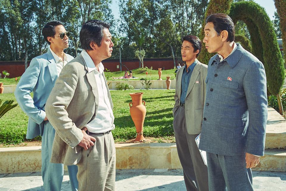 South and North Koreans face off in Escape From Mogadishu. (Photo: Golden Village Pictures)