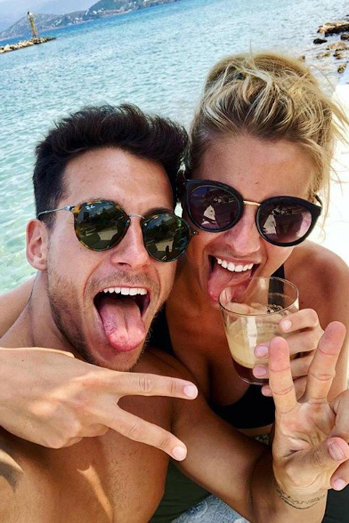 Excited: Gemma Atkinson and Gorka Marquez are gearing up for parenthood (Instagram/ Gemma Atkinson )