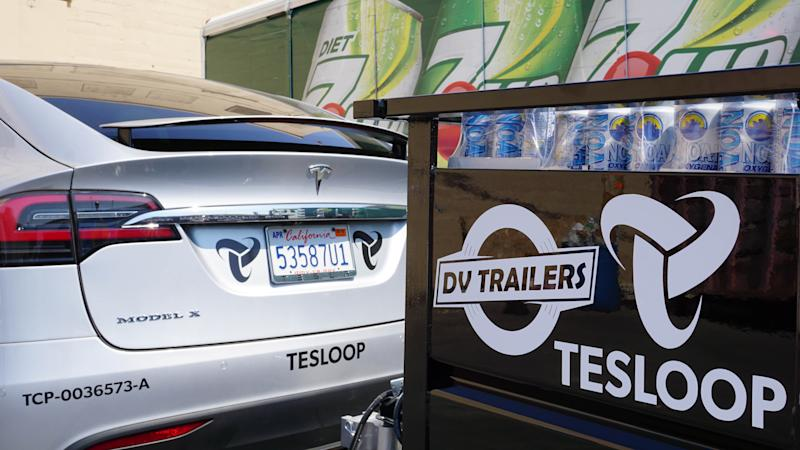 Trailer and car