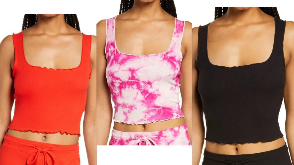 Year of Ours Lettuce Edge Crop Tank - Nordstrom, $29 (originally $48)