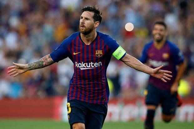 Champions League: Messi scores hat trick as Barcelona blanks PSV Eindhoven