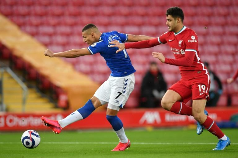 Richarlison opened the scoring after just three minutes for Everton