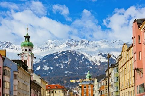 Innsbruck is the jumping-off-point for a world of adventure in the alps