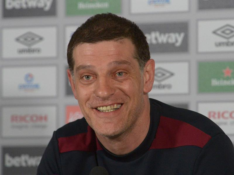 Slaven Bilic is choosing to remain calm over his future: Getty