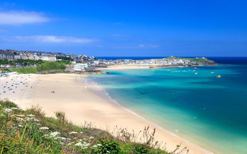 Porthminster Beach, Cornwall - Getty