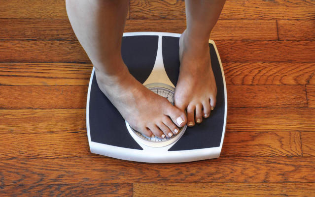 A psychologist warned that constant weigh-ins could have a negative impact. (Photo: Rick Elkins/Getty Images)