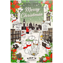 """<p>Lily's Kitchen advent calendar for cats is abundantly filled with naturally wholesome treats for your feline. You'll find a selection of three different cat treats behind each window.<br></p><p>£9.95 <a href=""""http://www.waitrosepet.com/christmas/cat-gifts-treats/lilys-kitchen-cat-advent-calendar?tsrc=vdna&gclid=CKHt1479mNACFQmeGwodTGgIzA&gclsrc=aw.ds"""" rel=""""nofollow noopener"""" target=""""_blank"""" data-ylk=""""slk:Waitrose"""" class=""""link rapid-noclick-resp"""">Waitrose</a></p>"""
