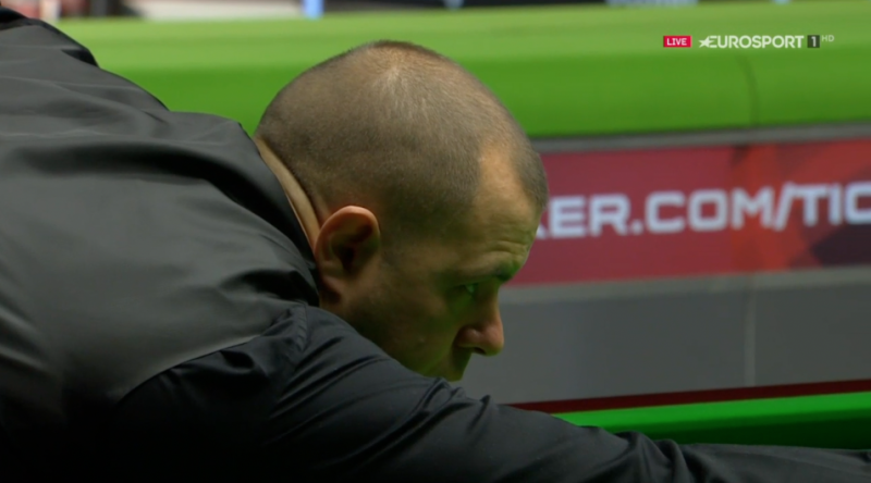 World number 10 Barry Hawkins claimed the third maximum break of his career in an impressive opening-round win.