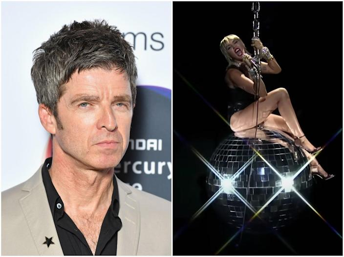 Gallagher disapproved of Miley Cyrus's performance at the MTV VMAs (Getty Images/MTV)
