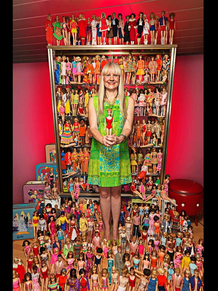 Bettina Dorfmann (Germany) has 15,000 different Barbie dolls that she has collected since 1993