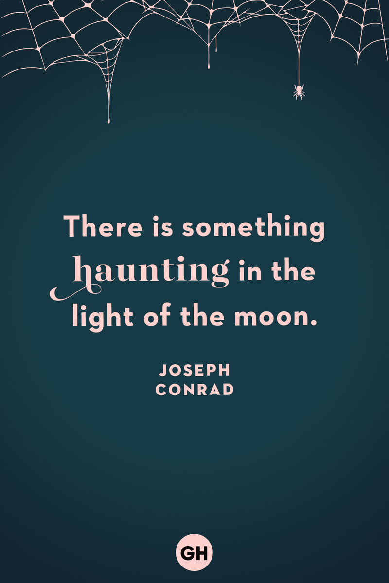 <p>There is something haunting in the light of the moon.</p>