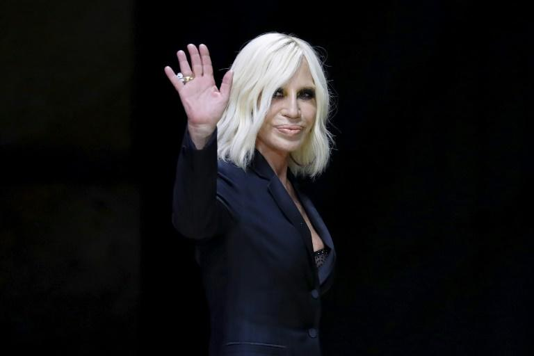 Donatella and her 'iconic style' are staying on