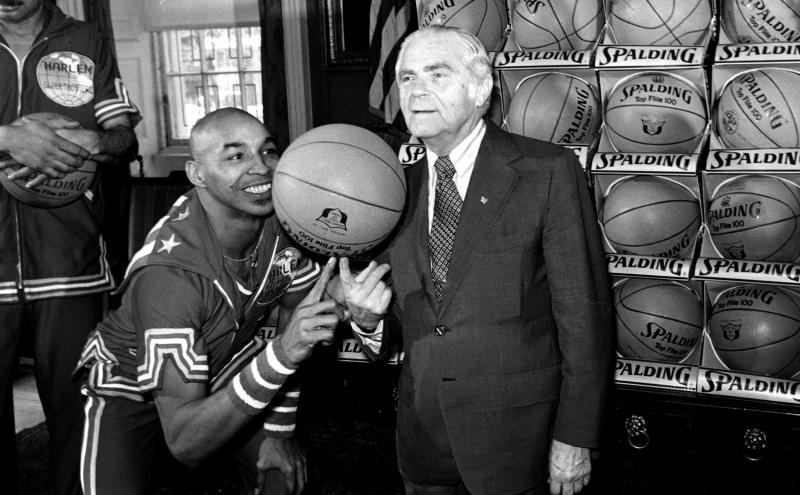 Image: Fred 'Curly' Neal and Abe Beame (AP file)