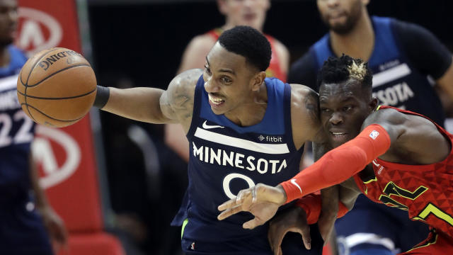 Jeff Teague was the Hawks sixth man on Monday night. (AP)