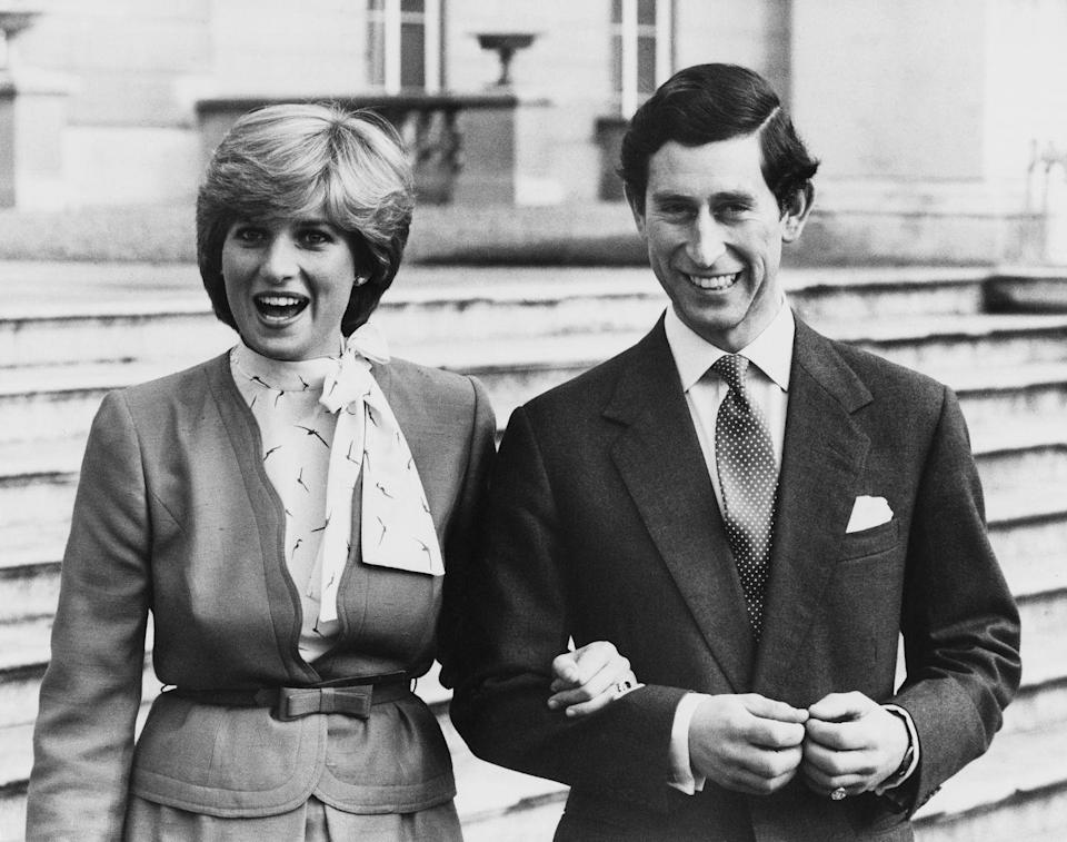 <p>The royal couple were captured in some candid shots, alongside the posed ones. </p>