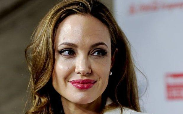 Angelina: 'Not beautiful' - Credit: Evan Agostini