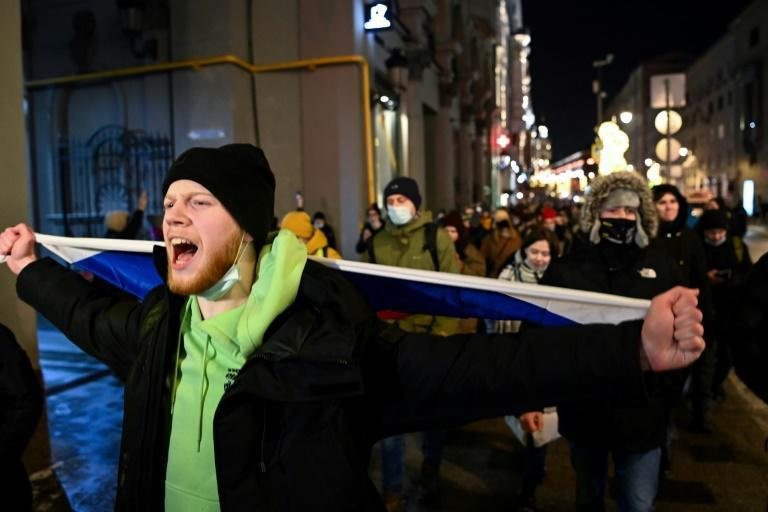Nearly 11,500 protesters were detained after demonstrations in support of Navalny