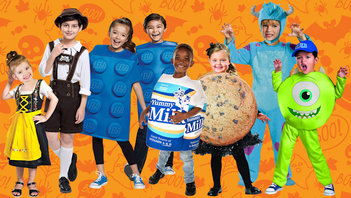 Are your kiddos going for cute or scary this Halloween?