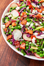 """<p>Even the pickiest eaters will be into this.</p><p>Get the recipe from <a href=""""https://www.delish.com/cooking/recipe-ideas/a27243978/pea-salad-recipe/"""" rel=""""nofollow noopener"""" target=""""_blank"""" data-ylk=""""slk:Delish"""" class=""""link rapid-noclick-resp"""">Delish</a>.</p>"""