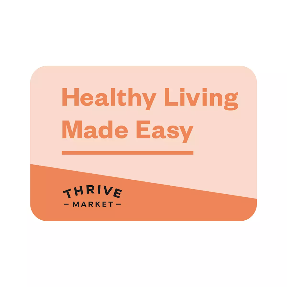 """<h2>Thrive Market Gift Card</h2><br>In a year that has us all <a href=""""https://www.refinery29.com/en-us/best-grocery-delivery-apps"""" rel=""""nofollow noopener"""" target=""""_blank"""" data-ylk=""""slk:ordering groceries"""" class=""""link rapid-noclick-resp"""">ordering groceries</a>, give the best of the best to your loved ones.<br><br><strong>Thrive Market</strong> Gift Card, 1 Year Membership, $, available at <a href=""""https://go.skimresources.com/?id=30283X879131&url=https%3A%2F%2Fthrivemarket.com%2Fp%2Fgift-card"""" rel=""""nofollow noopener"""" target=""""_blank"""" data-ylk=""""slk:Thrive Market"""" class=""""link rapid-noclick-resp"""">Thrive Market</a>"""