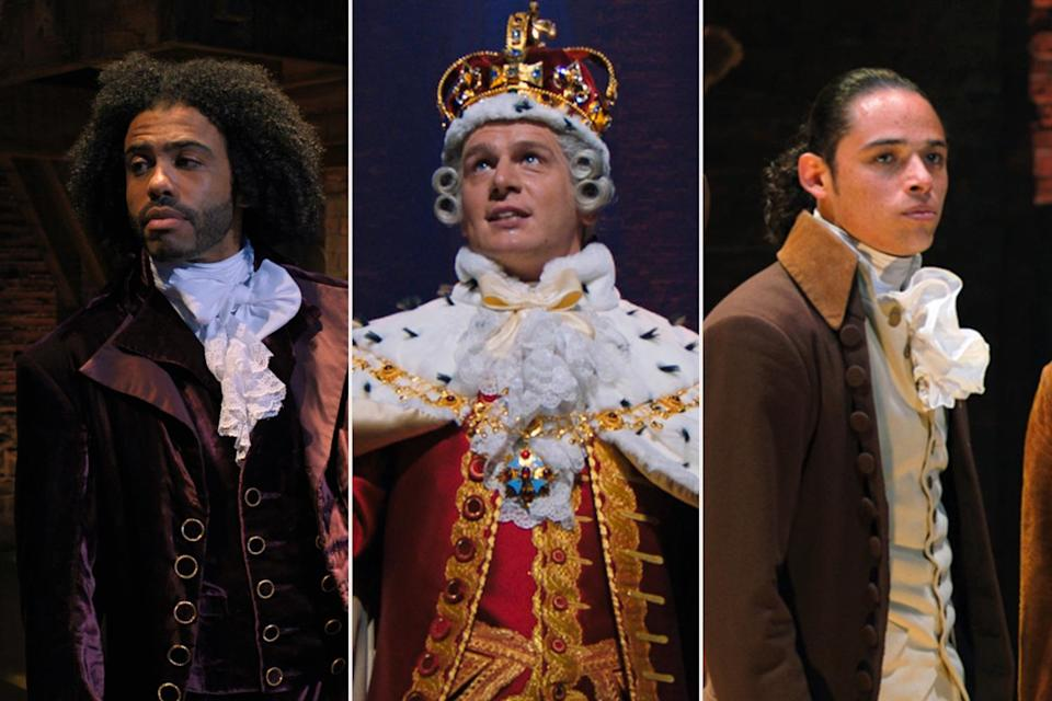 <p>are <em>also </em>all nominated in the same category for their roles in <em>Hamilton. </em>They're all up for outstanding supporting actor in a limited series. </p>