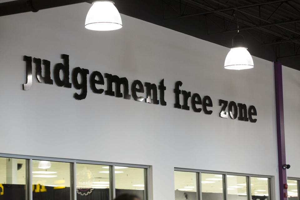 Planet Fitness's slogan may have inspired the man. (Photo: Bernard Weil/Toronto Star via Getty Images)
